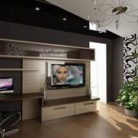 дизайн гостиной в современном стиле фото 30