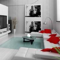 дизайн гостиной в современном стиле фото 6