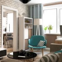 дизайн гостиной в современном стиле фото 8