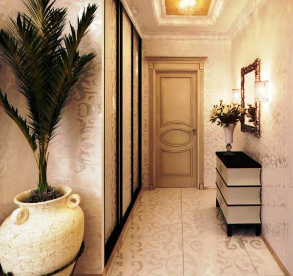 дизайн обоев в коридоре фото 3