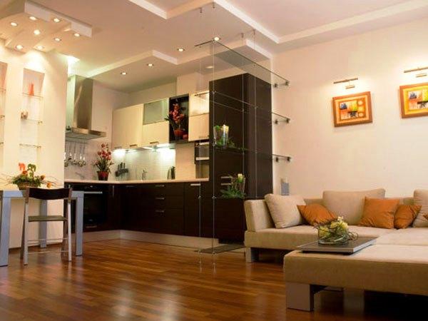 дизайн интерьера маленькой квартиры студии фото