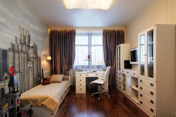 дизайн комнаты подростка с фотообоями