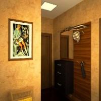 дизайн маленькой прихожей в квартире фото 30