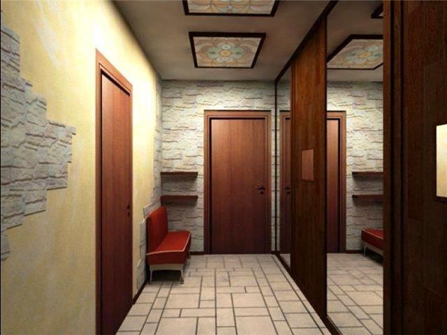 дизайн маленькой узкой прихожей в квартире фото