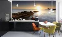 фотообои расширяющие пространство для кухни фото