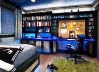 интерьер комнаты для подростка мальчика 14 лет фото