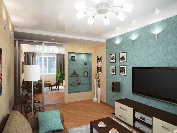 интерьер гостиной фото в современном стиле 16 кв.м