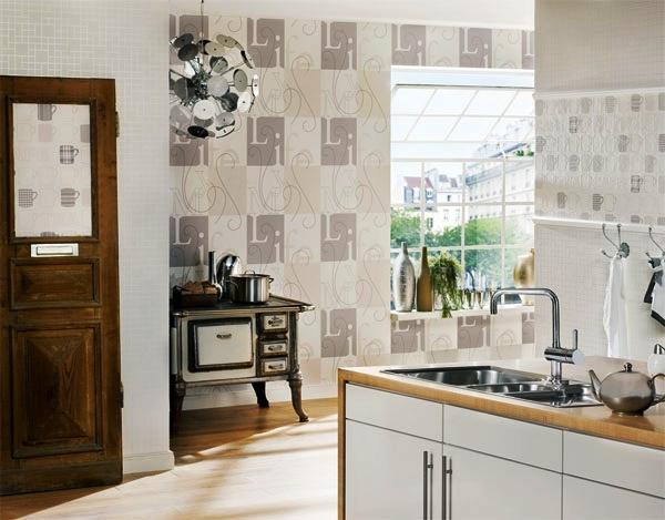 какой цвет обоев выбрать для кухни фото 2