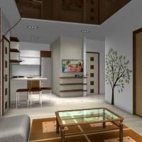 квартира студия дизайн интерьера фото 3