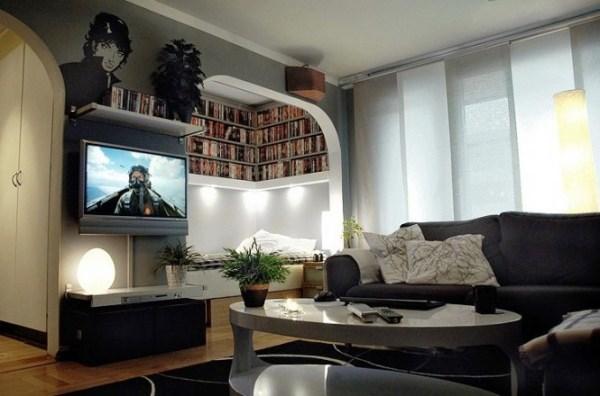 маленькая квартира студия дизайн интерьера фото