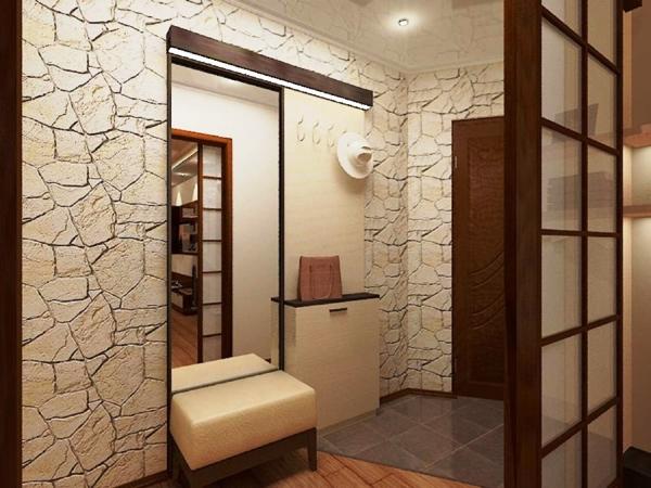 Дизайн маленьких коридоров в квартире