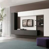 стенка в гостиную в современном стиле фото 24