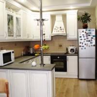 цвет обоев для кухни фото 10