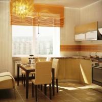 цвет обоев для кухни фото 11