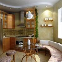 цвет обоев для кухни фото 13