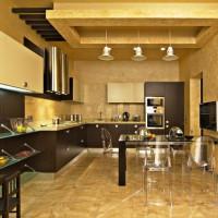 цвет обоев для кухни фото 18