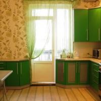 цвет обоев для кухни фото 20