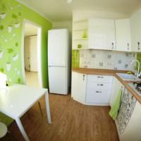 цвет обоев для кухни фото 30