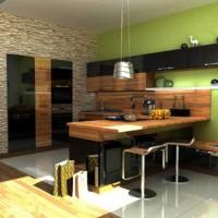 цвет обоев для кухни фото 31