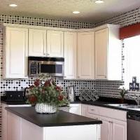 цвет обоев для кухни фото 37