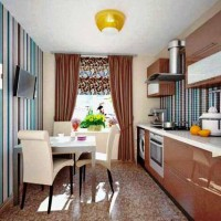 цвет обоев для кухни фото 39