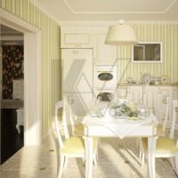 цвет обоев для кухни фото 4