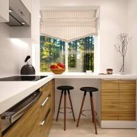 цвет обоев для кухни фото 8
