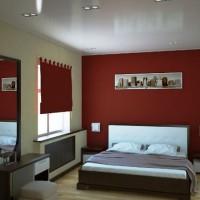 бордовый цвет в интерьере фото