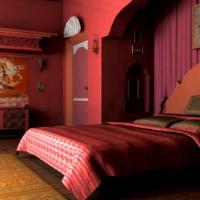 бордовый цвет в интерьере фото 33