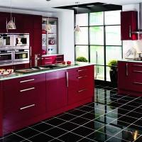 бордовый цвет в интерьере фото 4