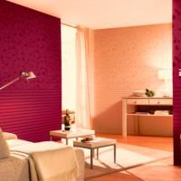 бордовый цвет в интерьере фото 7