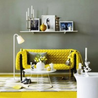 интерьеры в желтых тонах фото 14
