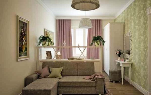 дизайн однокомнатной квартиры фото в современном стиле