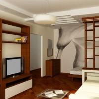 дизайн однокомнатных квартир ремонт фото 13