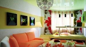 дизайн однокомнатных квартир ремонт фото