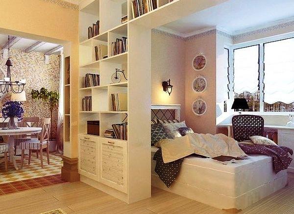 дизайн однокомнатных квартир ремонт фото 7