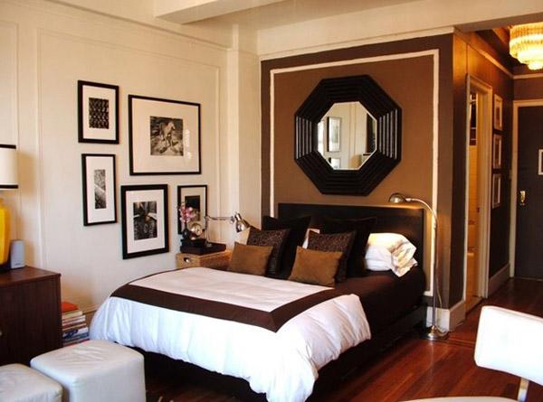 интерьер комнаты в однокомнатной квартире фото