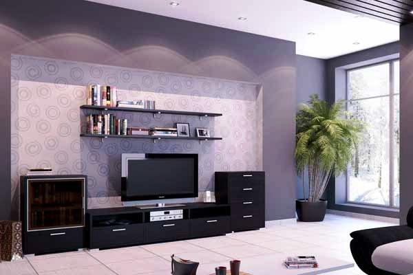Дизайн квартир обои для зала