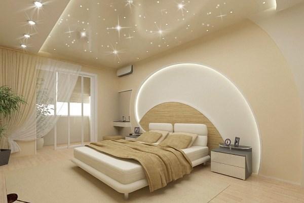 спальня в бежевом цвете фото