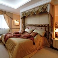 спальня в бежевых тонах фото 15