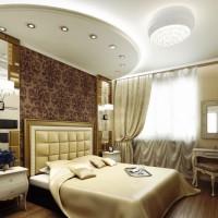 спальня в бежевых тонах фото 17