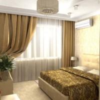 спальня в бежевых тонах фото 29