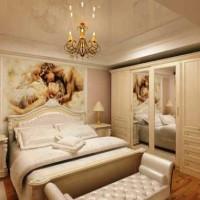 спальня в бежевых тонах фото 37