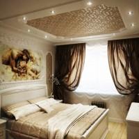 спальня в бежевых тонах фото 4