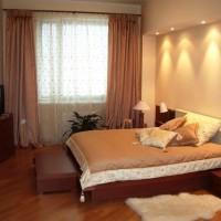 спальня в бежевых тонах фото 43