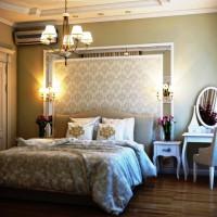 спальня в бежевых тонах фото 49
