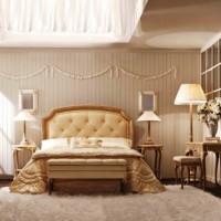 спальня в бежевых тонах фото 5