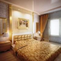 спальня в бежевых тонах фото 50