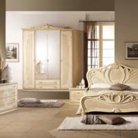 спальня в бежевых тонах фото 51