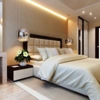 спальня в бежевых тонах фото 8